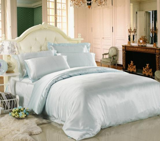 Introduction Of Silk Bed Linen In Pale Turquoise Lilysilk