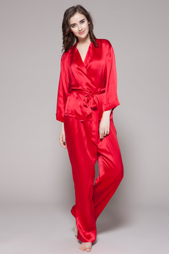 340_rouge_long_notched_collar_silk_pajamas_set_for_women