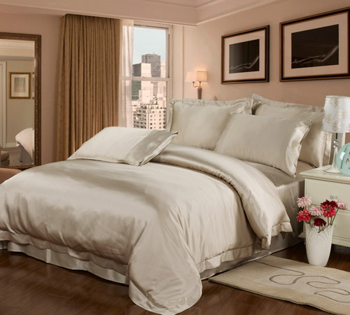22mm seamless silk bedding set