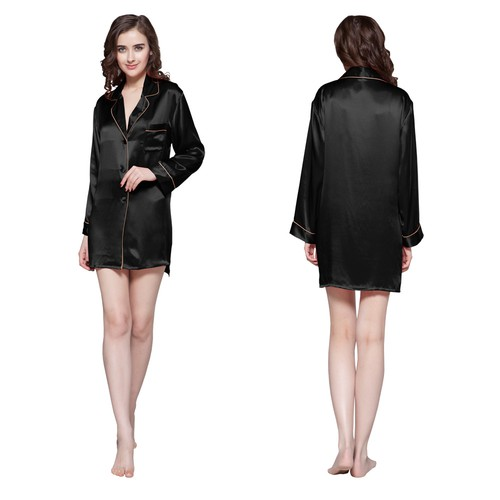 500-black-22-momme-contra-trim-silk-nightshirt