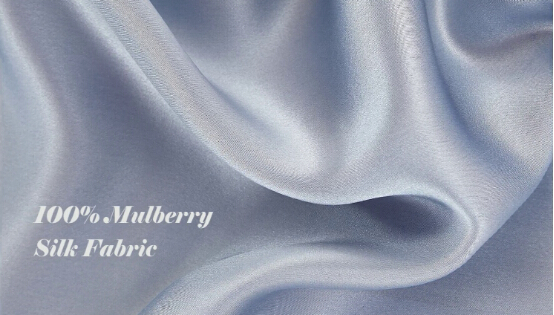 100% Mulberry Silk Fabric