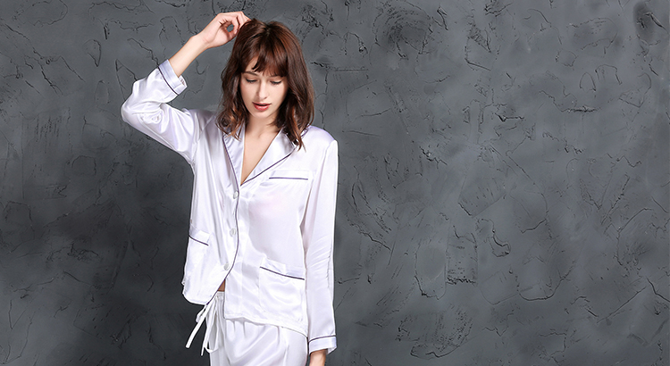 Silk Pyjamas Set
