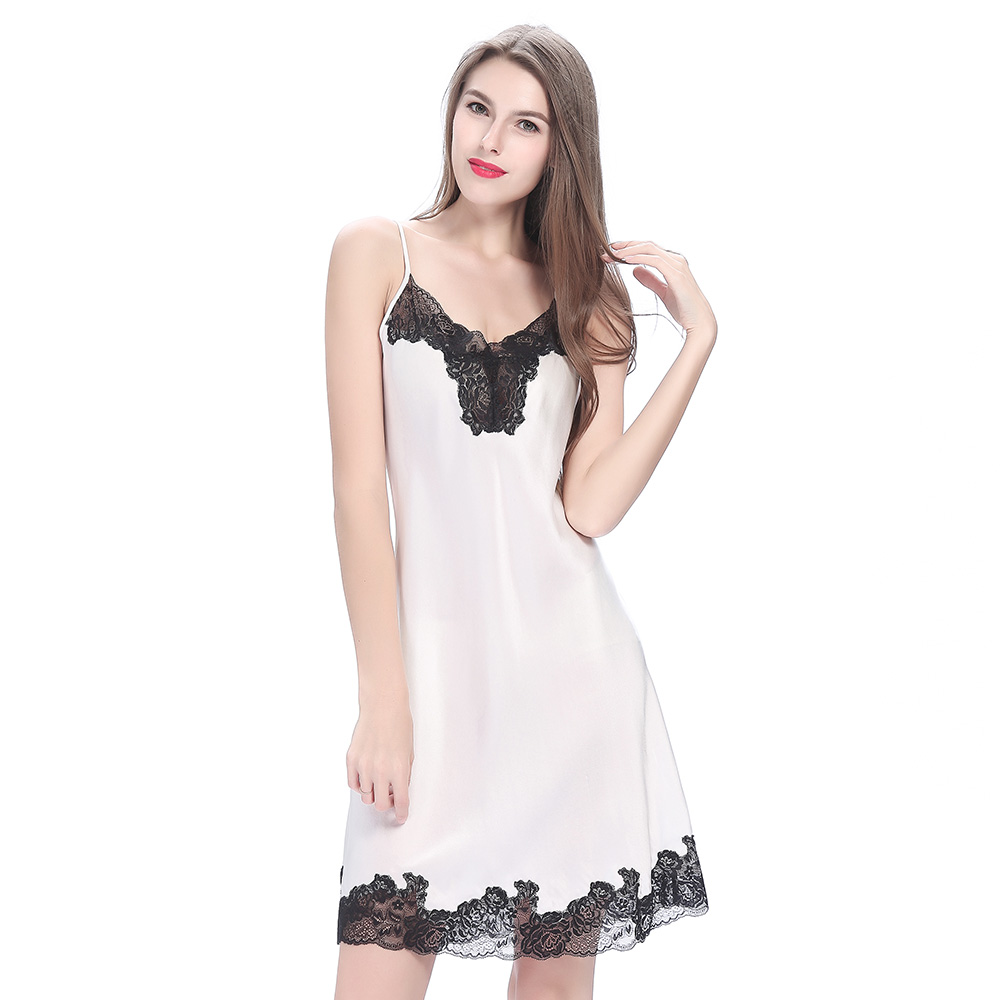 Light Pink Silk Nihgt gown