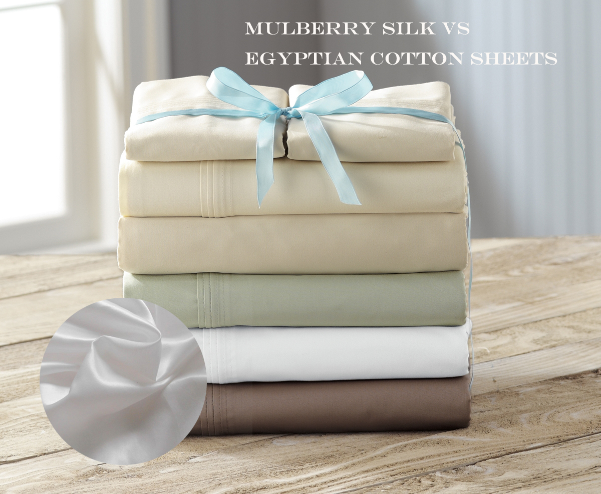Mulberry Silk Vs Egyptian Cotton Sheets Lilysilk