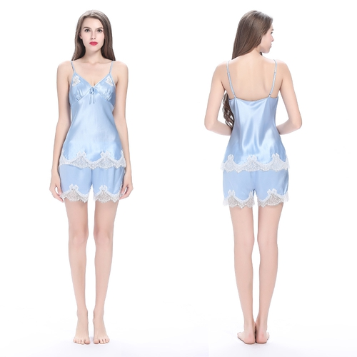 500-light-blue-22-momme-sexy-lace-short-silk-camisole-set-01