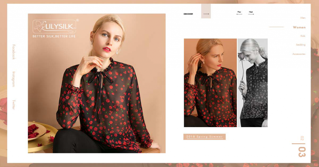 Silk Shirt/Silk Blouse For Women